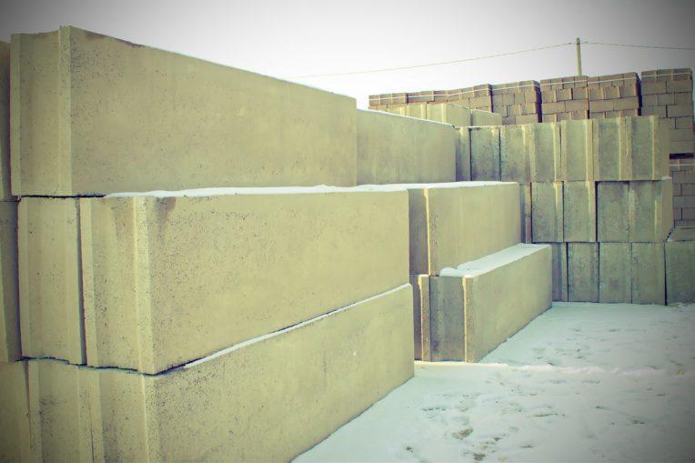 Железобетонные блоки — основа строительного объекта