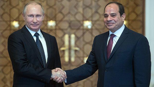 Путин и ас-Сиси обсудят ход строительства АЭС «Эль-Дабаа»